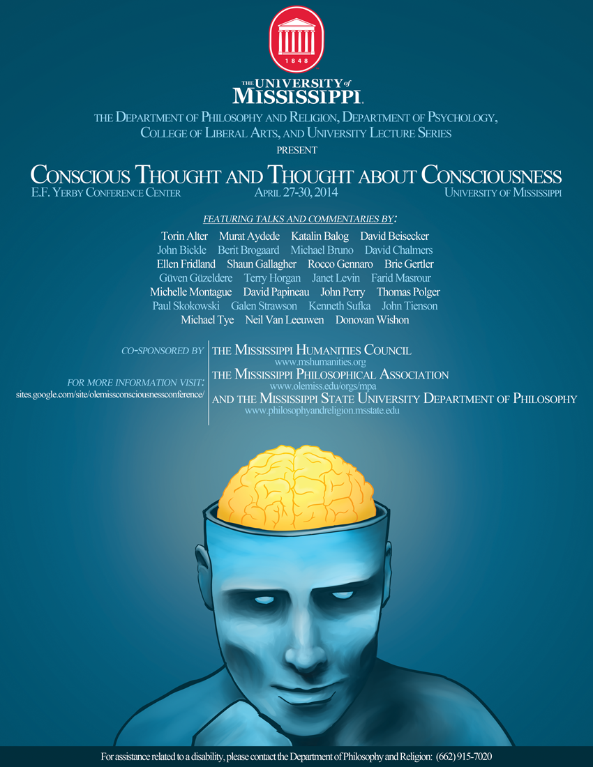 Consciousness Conference Bringing World-Class Experts to Campus